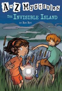 A to Z Mysteries: The Invisible Island:  - ISBN: 9780679894575