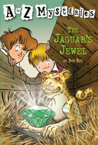 A to Z Mysteries: The Jaguar's Jewel:  - ISBN: 9780679894582