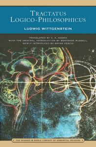 Tractatus Logico-Philosophicus (Barnes & Noble Library of Essential Reading):  - ISBN: 9780760752357
