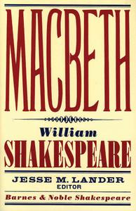 Macbeth (Barnes & Noble Shakespeare):  - ISBN: 9781411400375