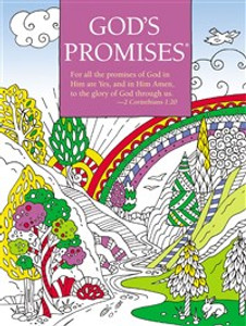 God's Promises Coloring Book - ISBN: 9780718098681