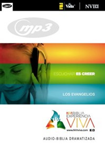 La NVI Biblia Experiencia Viva, Los Evangelios, MP3 - ISBN: 9780829759051