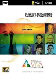 NVI Biblia Experiencia Viva, Nuevo Testamento con Salmos y Proverbios MP3 - ISBN: 9780829759020