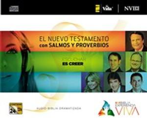 NVI Biblia Experiencia Viva, Nuevo Testamento con Salmos y Proverbios CD - ISBN: 9780829759013