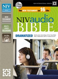 NIV, New Testament Audio Bible, Dramatized, Audio CD - ISBN: 9780310436485
