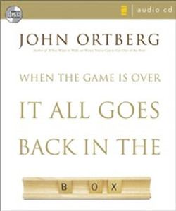When the Game Is Over, It All Goes Back in the Box - ISBN: 9780310277330