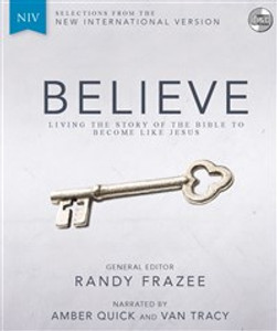 NIV, Believe, Audio CD - ISBN: 9780310443735