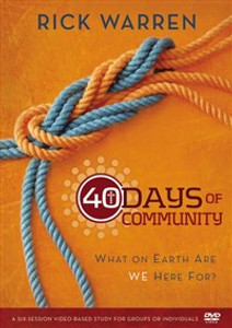 40 Days of Community Video Study - ISBN: 9780310689126