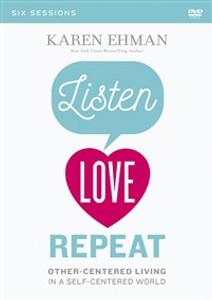 Listen, Love, Repeat Video Study - ISBN: 9780310082668