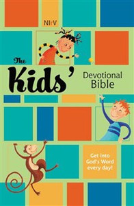NIrV, The Kids Devotional Bible, Hardcover - ISBN: 9780310712435