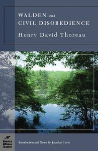 Walden and Civil Disobedience (Barnes & Noble Classics Series):  - ISBN: 9781593082086