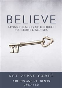 Believe Key Verse Cards: Adult/Student - ISBN: 9780310886440