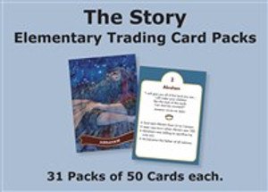 The Story Trading Cards Church Pack: For Elementary - ISBN: 9780310740094