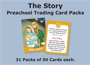 The Story Trading Cards Church Pack: For Preschool - ISBN: 9780310740025