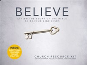 Believe: Church Resource Kit - ISBN: 9780310681717