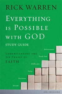 Everything is Possible with God Study Guide - ISBN: 9780310671497