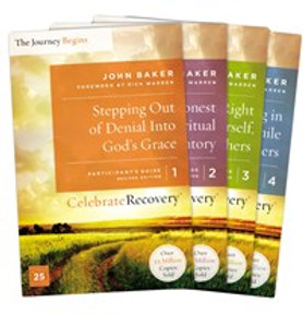 Celebrate Recovery Updated Participant's Guide Set, Volumes 1-4 - ISBN: 9780310083108
