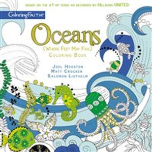 Oceans Adult Coloring Book - ISBN: 9780310085874