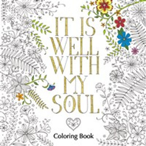 It Is Well with My Soul Adult Coloring Book - ISBN: 9780310346692