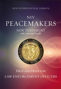 NIV, Peacemakers New Testament with Psalms and Proverbs, Paperback - ISBN: 9780310081173