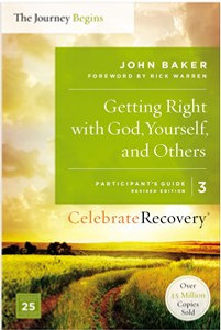 Getting Right with God, Yourself, and Others Participant's Guide 3 - ISBN: 9780310082378