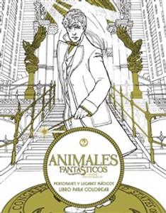 Animales fantásticos y dónde encontrarlos: Personajes y lugares mágicos. Libro para colorear - ISBN: 9780718091347
