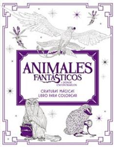 Animales fantásticos y dónde encontrarlos: Criaturas mágicas. Libro para colorear - ISBN: 9780718087166