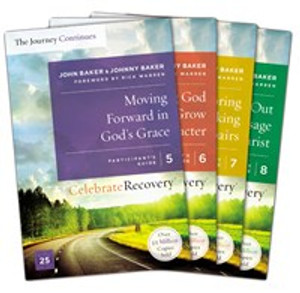 Celebrate Recovery: The Journey Continues Participant's Guide Set Volumes 5-8 - ISBN: 9780310886532