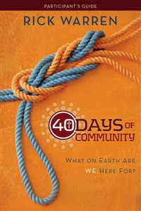 40 Days of Community Study Guide 3-product pack - ISBN: 9780310689140