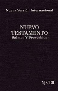 Nuevo Testamento, Salmos y Proverbios NVI de Bolsillo - ISBN: 9781563206290