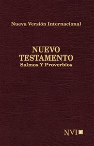 Nuevo Testamento, Salmos y Proverbios NVI de Bolsillo - ISBN: 9781563207556