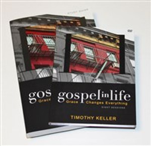 Gospel in Life Discussion Guide with DVD - ISBN: 9780310329183