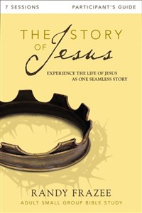 The Story of Jesus Participant's Guide with DVD - ISBN: 9780310696698