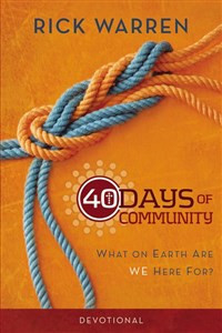 40 Days of Community Devotional - ISBN: 9780310689133