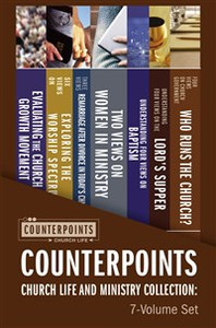 Counterpoints Church Life and Ministry Collection: 7-Volume Set - ISBN: 9780310526476