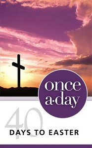 NIV, Once-A-Day 40 Days to Easter Devotional, Paperback - ISBN: 9780310421320