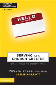 Serving as a Church Greeter - ISBN: 9780310247647