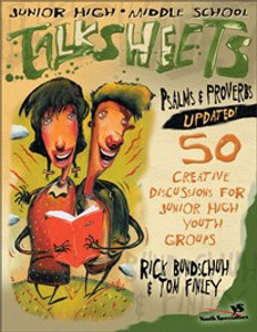 Junior High and Middle School Talksheets Psalms and Proverbs-Updated! - ISBN: 9780310238515