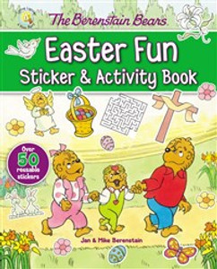 The Berenstain Bears Easter Fun Sticker and Activity Book - ISBN: 9780310753810