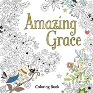 Amazing Grace Adult Coloring Book - ISBN: 9780310347071