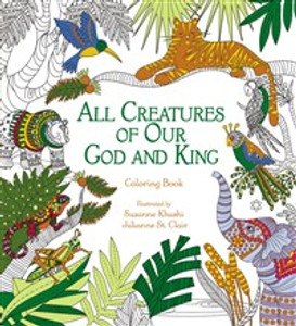 All Creatures of Our God and King Adult Coloring Book - ISBN: 9780310348788