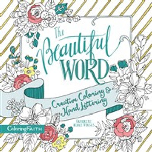 The Beautiful Word Adult Coloring Book - ISBN: 9780718092702