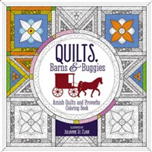 Quilts, Barns and   Buggies Adult Coloring BooK - ISBN: 9780310087595