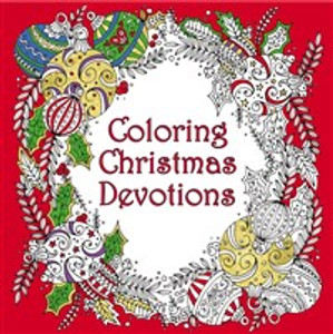 Coloring Christmas Devotions - ISBN: 9780310088097