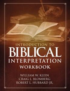 Introduction to Biblical Interpretation Workbook - ISBN: 9780310536680