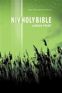 NIV, New Testament, Large Print, Paperback, Green - ISBN: 9781563206207