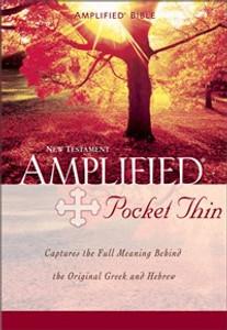 Amplified Pocket-Thin New Testament, Paperback - ISBN: 9780310951650