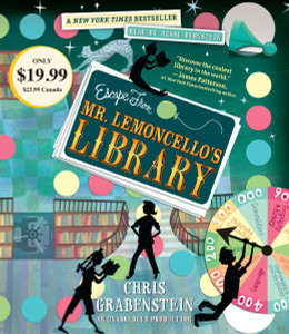 Escape from Mr. Lemoncello's Library:  (AudioBook) (CD) - ISBN: 9780147520135