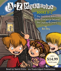 A to Z Mysteries: Books H-J: The Haunted Hotel; The Invisible Island; The Jaguar's Jewel (AudioBook) (CD) - ISBN: 9780449010488