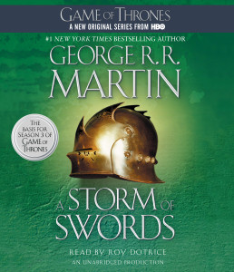A Storm of Swords: A Song of Ice and Fire: Book Three (AudioBook) (CD) - ISBN: 9780449011904
